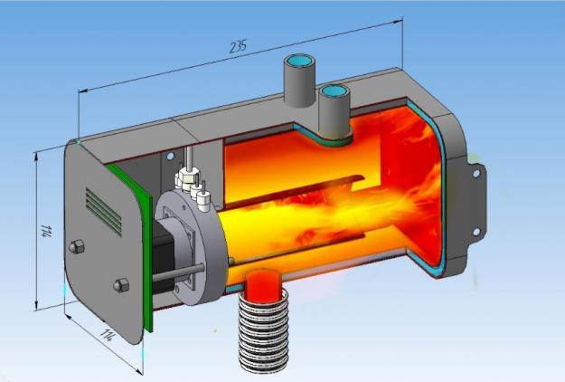 Газовый двигатель как сделать